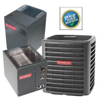 Goodman GSZ140181K CAPF3636B6D MBVC1200AA1A SEER 15 Heat Pump Air Conditioner Split System