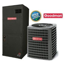 Goodman SSZ140181B ASPT30C14A MBVC1200AA-1A SEER 15 Heat Pump Air Conditioner