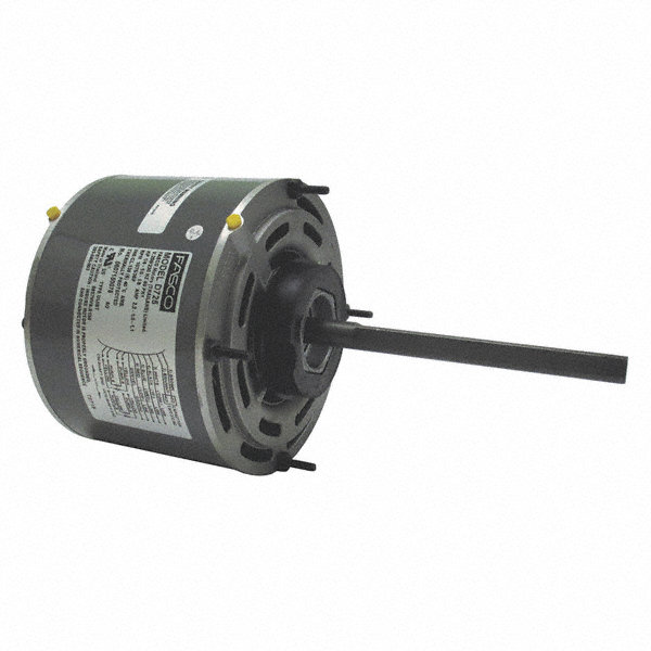 FASCO 1/8 HP Condenser Fan Motor, Permanent Split Capacitor, 700 Nameplate RPM, 115 VoltageFrame 48