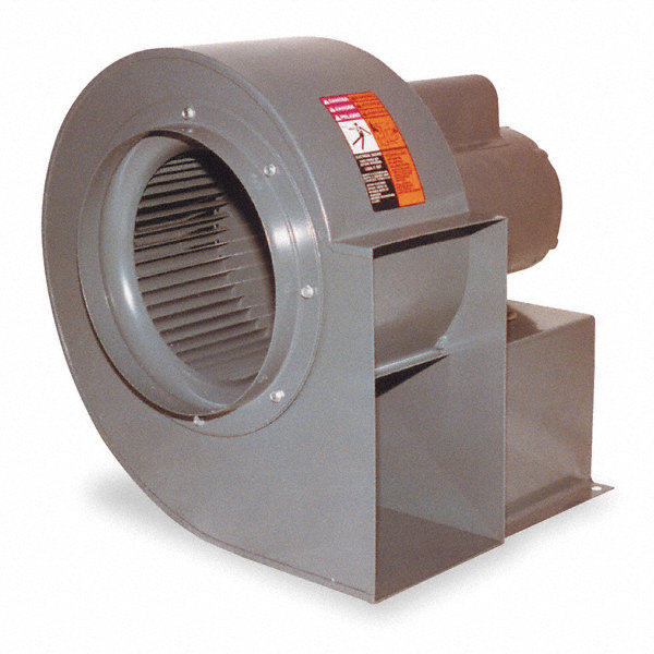 Direct Drive DAYTON Blower,115/230 V