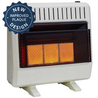 Avenger Dual Fuel Ventless Infrared Heater - 30,000 BTU, Model# FDT3IR