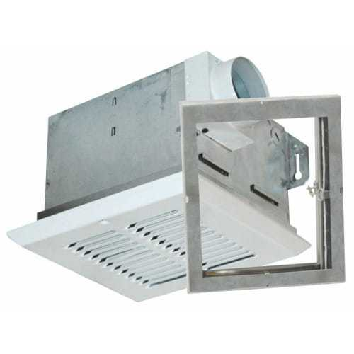 Air King FRAS50 50 CFM Quiet Bath Fan Only with 3.2 Sones from the Fire Rated Collection