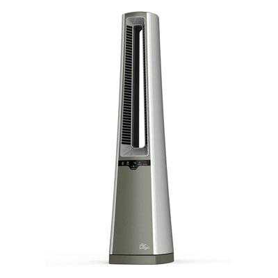 Lasko Ac600 Air Logic Bladeless Tower Fan - Gray