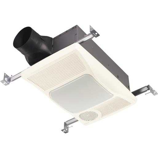 Broan-Nutone 100Cfm Lght/Htr Bath Fan 100HL Unit: EACH