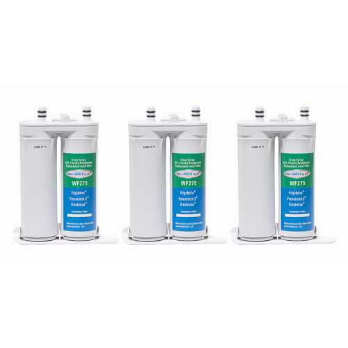 Aqua Fresh Replacement Water Filter Cartridge for Electrolux EI23BC35KS (3-Pack)