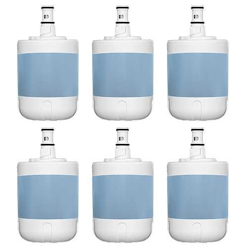 Aqua Fresh Replacement Water Filter for Kenmore 8171413 / 9002 / WF286 AquaFresh (6 Pk)