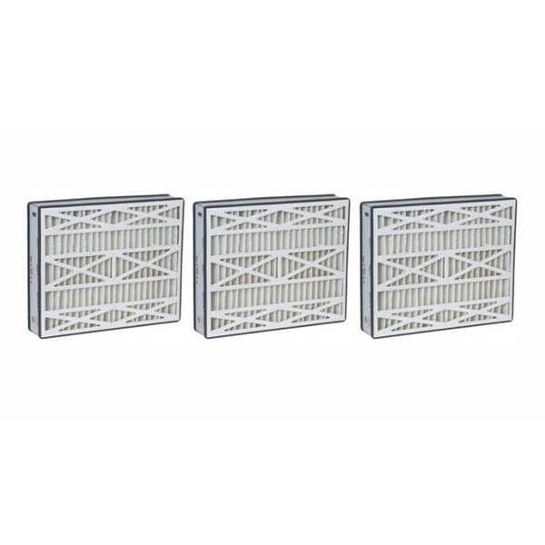 3 Trion Air Bear 16x25x3 Merv 8 Replacement Air Filters, Part # 255649-101 - furnace filter