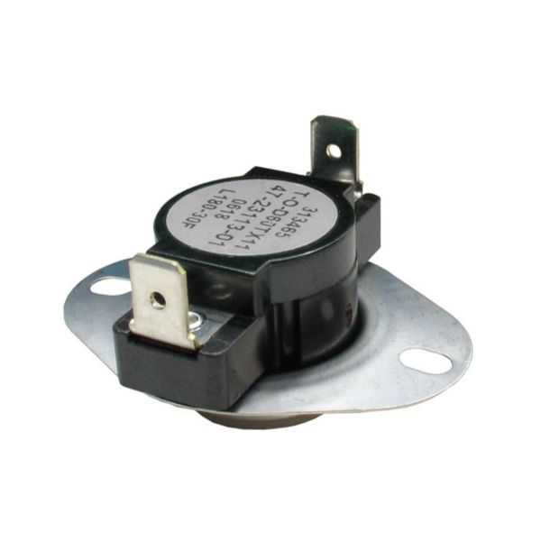 THERMODISC 47-23113-05 - Limit Switch - Auto Reset (Flanged Airstream)