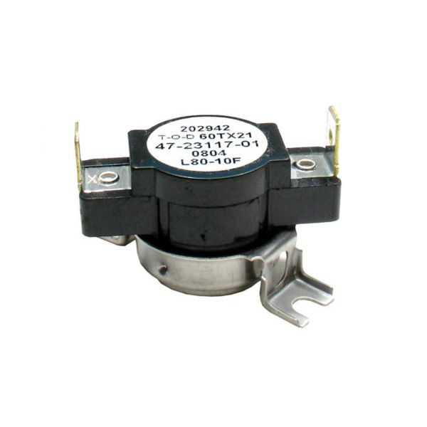 THERMODISC 47-23117-01 - Limit Switch - Auto Reset (Surface Mount)