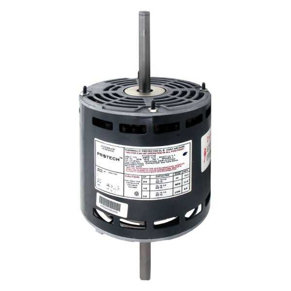 PROTECH 51-23017-32 - Double Shaft Motor - 3/4 HP 120/1/60 (1075 rpm/3 speed)
