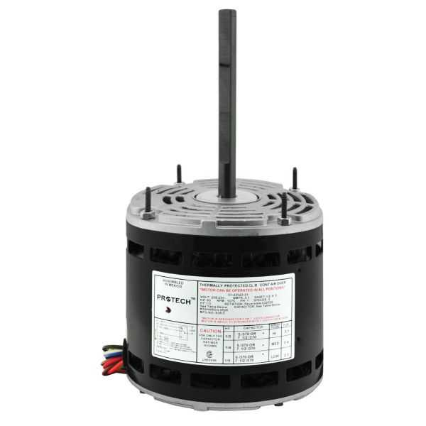 PROTECH 51-23023-31 - Blower Motor - 1/3 HP 208-230/1/60 (1075 rpm/3 speed)