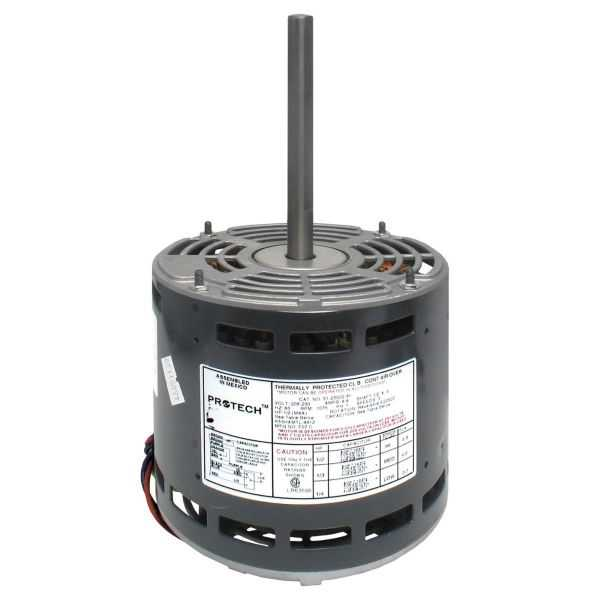 PROTECH 51-23027-31 - Blower Motor - 3/4 HP 208-230/1/60 (1075 RPM/3 Speed)
