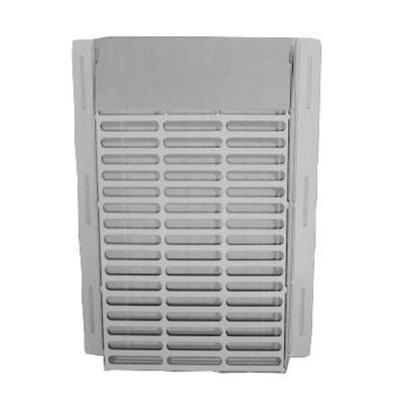 WallECover13.75 in. x 12.75 in. x 2.75 in. Powder Coated Galvanized Steel Pest Control Exterior Vent Cover in White