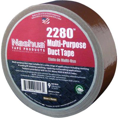 1.89 in. x 60.1 yds. 2280 Multi-Purpose Brown Duct Tape