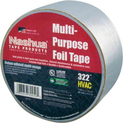 1.89 in. x 9.8 yds. Multi-Purpose HVAC Foil Tape