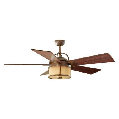 Dakota 52 in. Indoor/Outdoor Heritage Bronze Ceiling Fan