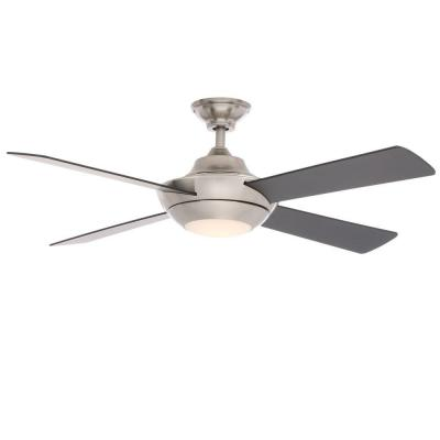 Moonlight II LED 52 in. Brushed Nickel Ceiling Fan