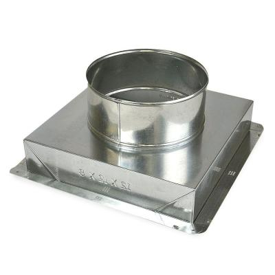 14 in. x 14 in. to 12 in. Ceiling Register Box