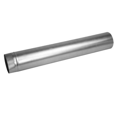 4 in. x 60 in. 30-Gauge Aluminum Rigid Pipe