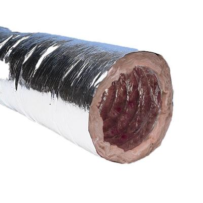 5 in. x 12 ft. Insulated Flexible Duct with Metalized Jacket - R8