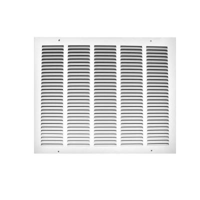 16 in. x 10 in. White Return Air Grille
