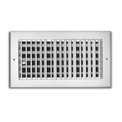 16 in. x 6 in. 1 Way Aluminum Adjustable Wall/Ceiling Register