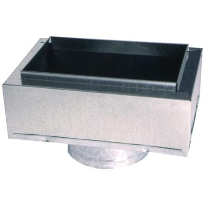 12 in. x 6 in. to 7 in. Insulated Register Box