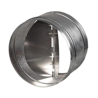 6 in. Galvanized Back-Draft Damper with Rubber Seal