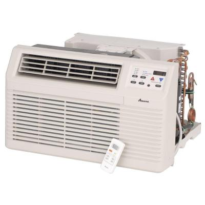 11,700 BTU 230/208-Volt Through-the-Wall Heat Pump with 3.5 kW Electric Heat and Remote