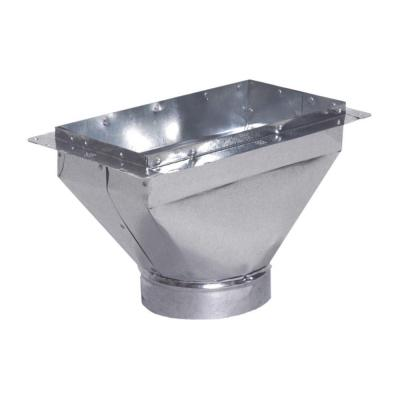 12 in. x 4 in. to 6 in. Universal Register Box with Flange