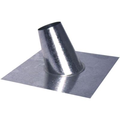 5 in. Roof Flashing with Tapered Stack