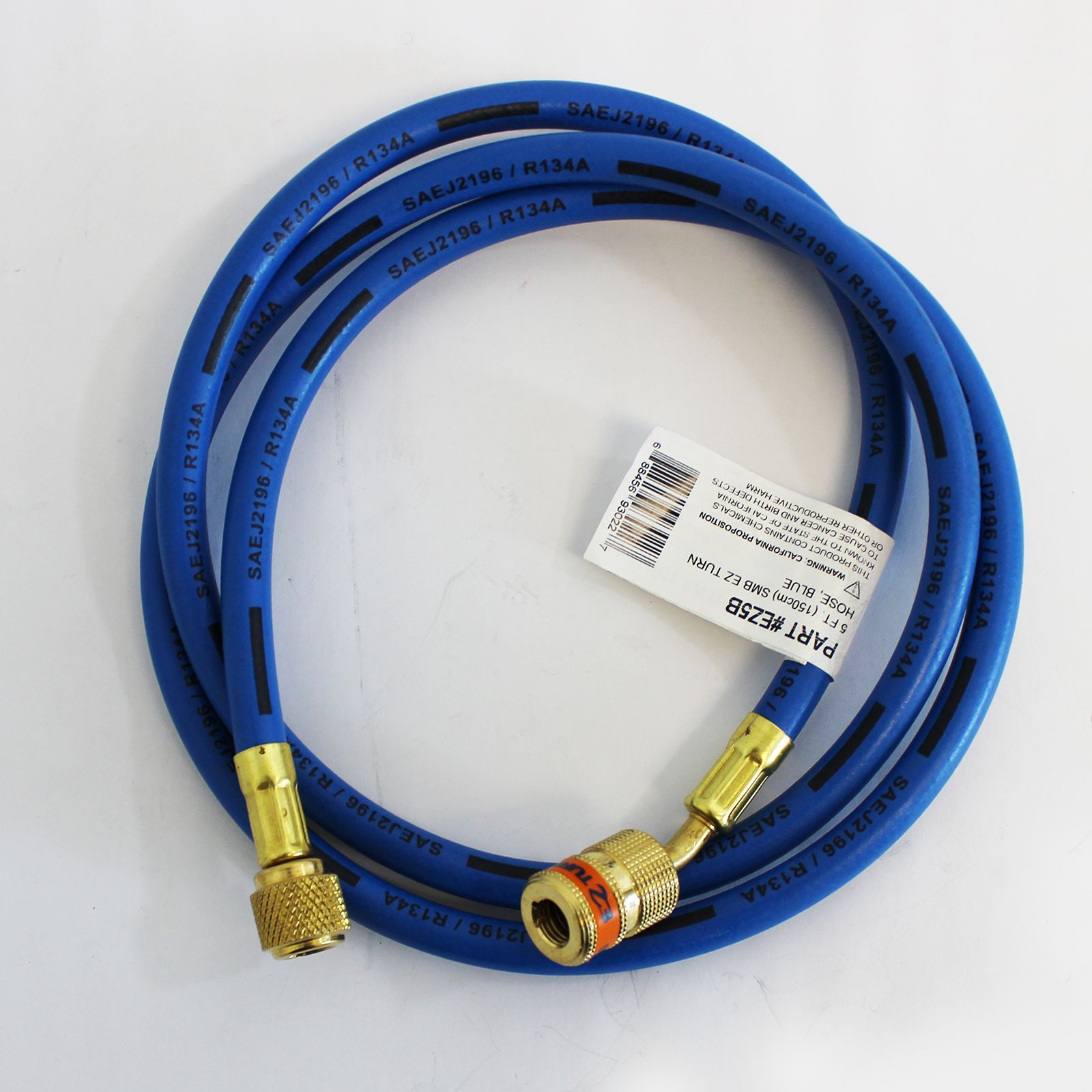 TradePro TPEZ5B - EZ Turn 5 Foot Anti-Blowback Hose Blue
